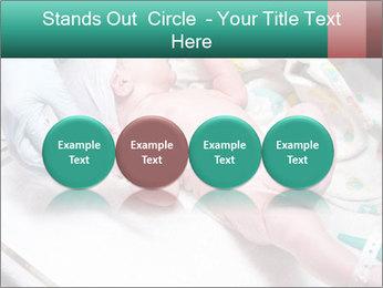 Newborn cute infant baby PowerPoint Templates - Slide 76
