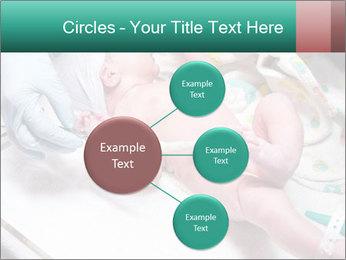 Newborn cute infant baby PowerPoint Templates - Slide 79