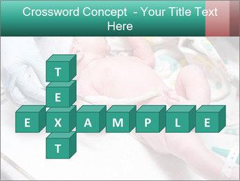 Newborn cute infant baby PowerPoint Template - Slide 82