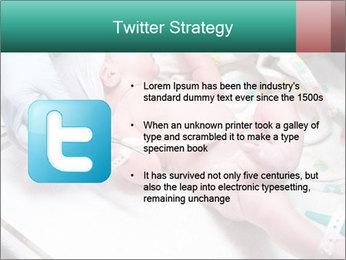 Newborn cute infant baby PowerPoint Templates - Slide 9