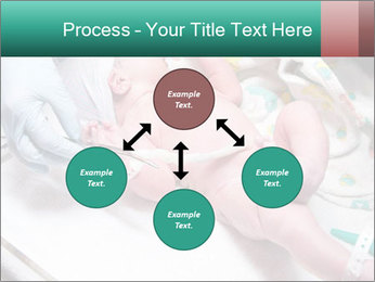 Newborn cute infant baby PowerPoint Template - Slide 91