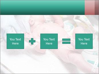 Newborn cute infant baby PowerPoint Templates - Slide 95