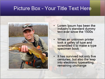 A fly fisherman PowerPoint Templates - Slide 13