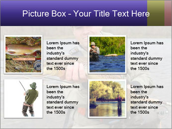 A fly fisherman PowerPoint Templates - Slide 14