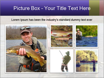 A fly fisherman PowerPoint Templates - Slide 19