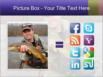 A fly fisherman PowerPoint Templates - Slide 21
