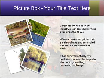 A fly fisherman PowerPoint Templates - Slide 23