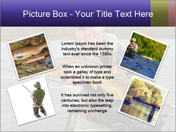 A fly fisherman PowerPoint Templates - Slide 24