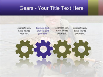 A fly fisherman PowerPoint Templates - Slide 48