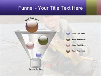 A fly fisherman PowerPoint Templates - Slide 63