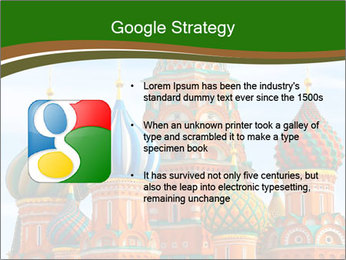 Place In Moscow, Saint Basil's Cathedral PowerPoint Templates - Slide 10