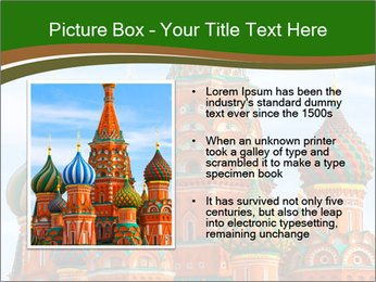 Place In Moscow, Saint Basil's Cathedral PowerPoint Templates - Slide 13