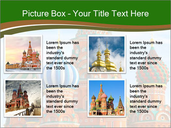 Place In Moscow, Saint Basil's Cathedral PowerPoint Templates - Slide 14