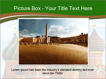 Place In Moscow, Saint Basil's Cathedral PowerPoint Templates - Slide 15