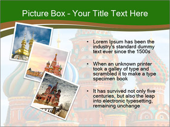 Place In Moscow, Saint Basil's Cathedral PowerPoint Templates - Slide 17