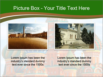 Place In Moscow, Saint Basil's Cathedral PowerPoint Templates - Slide 18