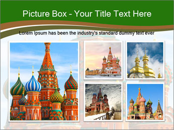 Place In Moscow, Saint Basil's Cathedral PowerPoint Templates - Slide 19