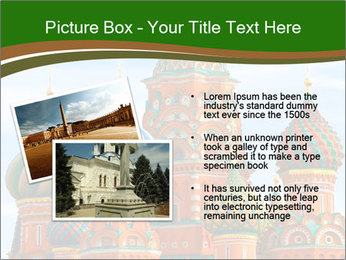 Place In Moscow, Saint Basil's Cathedral PowerPoint Templates - Slide 20