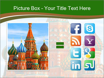 Place In Moscow, Saint Basil's Cathedral PowerPoint Templates - Slide 21