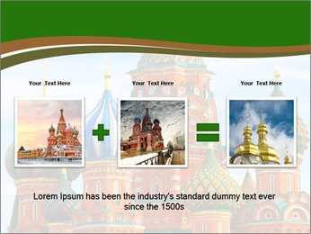Place In Moscow, Saint Basil's Cathedral PowerPoint Templates - Slide 22