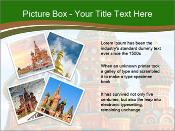 Place In Moscow, Saint Basil's Cathedral PowerPoint Templates - Slide 23