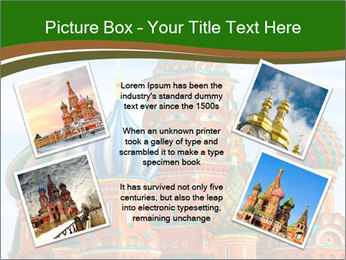 Place In Moscow, Saint Basil's Cathedral PowerPoint Templates - Slide 24