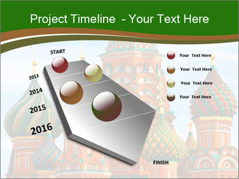 Place In Moscow, Saint Basil's Cathedral PowerPoint Templates - Slide 26