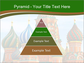 Place In Moscow, Saint Basil's Cathedral PowerPoint Templates - Slide 30