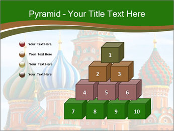 Place In Moscow, Saint Basil's Cathedral PowerPoint Templates - Slide 31