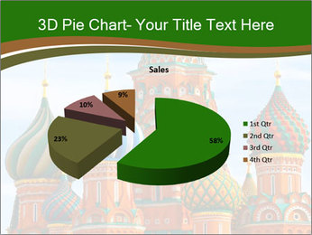 Place In Moscow, Saint Basil's Cathedral PowerPoint Templates - Slide 35