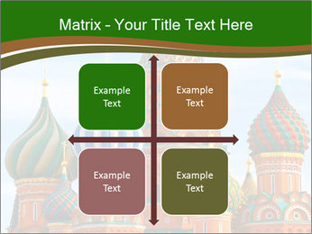 Place In Moscow, Saint Basil's Cathedral PowerPoint Templates - Slide 37