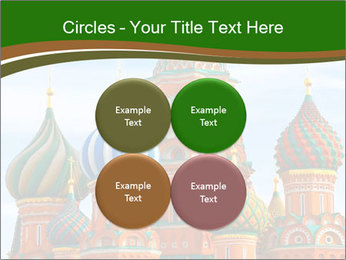 Place In Moscow, Saint Basil's Cathedral PowerPoint Templates - Slide 38