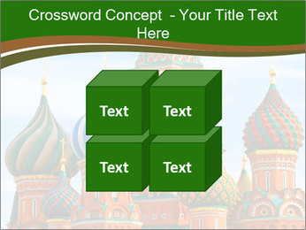 Place In Moscow, Saint Basil's Cathedral PowerPoint Templates - Slide 39