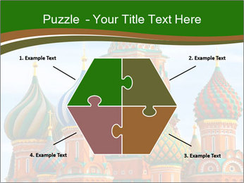 Place In Moscow, Saint Basil's Cathedral PowerPoint Templates - Slide 40