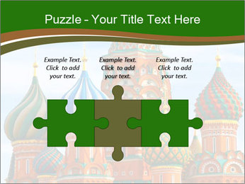 Place In Moscow, Saint Basil's Cathedral PowerPoint Templates - Slide 42