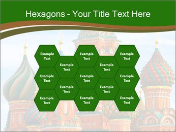Place In Moscow, Saint Basil's Cathedral PowerPoint Templates - Slide 44