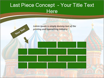 Place In Moscow, Saint Basil's Cathedral PowerPoint Templates - Slide 46