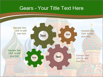 Place In Moscow, Saint Basil's Cathedral PowerPoint Templates - Slide 47