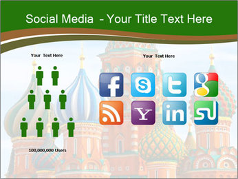 Place In Moscow, Saint Basil's Cathedral PowerPoint Templates - Slide 5