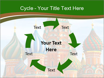 Place In Moscow, Saint Basil's Cathedral PowerPoint Templates - Slide 62
