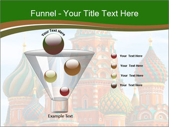 Place In Moscow, Saint Basil's Cathedral PowerPoint Templates - Slide 63