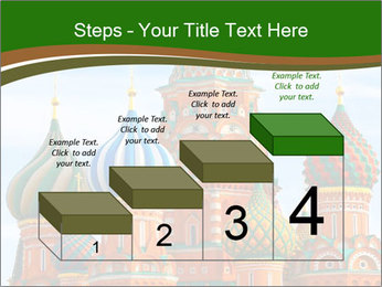 Place In Moscow, Saint Basil's Cathedral PowerPoint Templates - Slide 64