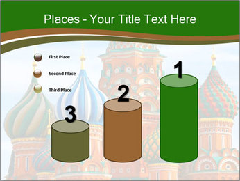 Place In Moscow, Saint Basil's Cathedral PowerPoint Templates - Slide 65