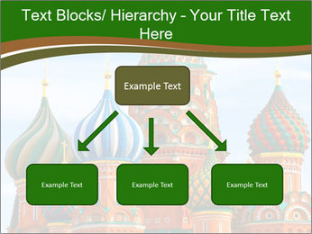 Place In Moscow, Saint Basil's Cathedral PowerPoint Templates - Slide 69