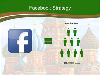 Place In Moscow, Saint Basil's Cathedral PowerPoint Templates - Slide 7