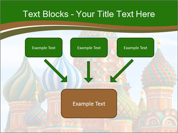 Place In Moscow, Saint Basil's Cathedral PowerPoint Templates - Slide 70