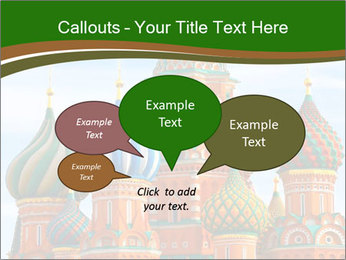 Place In Moscow, Saint Basil's Cathedral PowerPoint Templates - Slide 73