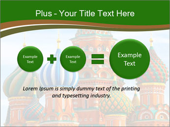 Place In Moscow, Saint Basil's Cathedral PowerPoint Templates - Slide 75
