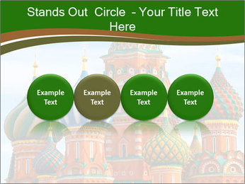 Place In Moscow, Saint Basil's Cathedral PowerPoint Templates - Slide 76