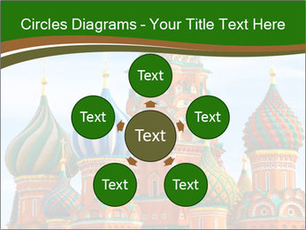 Place In Moscow, Saint Basil's Cathedral PowerPoint Templates - Slide 78
